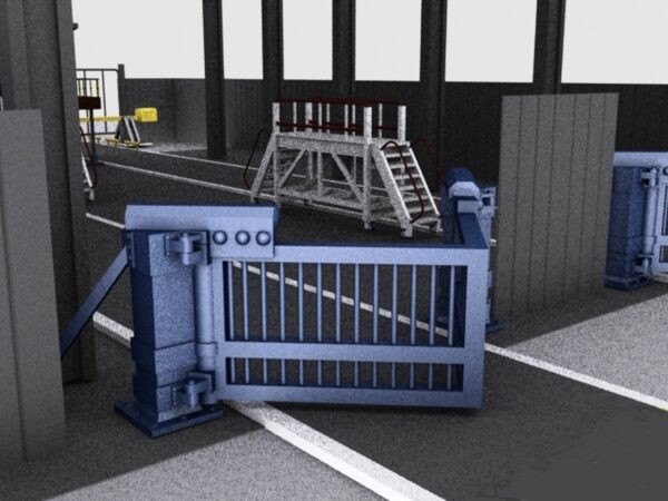 Ворота противотаране