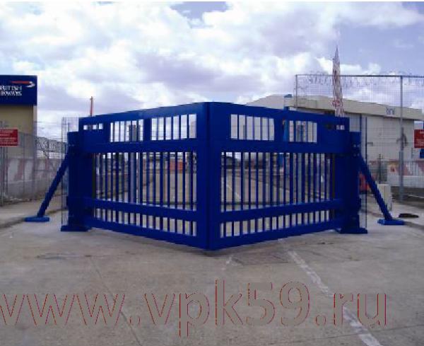 ворота противотаранные